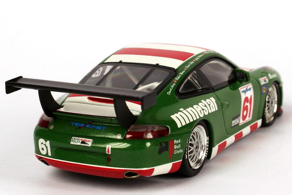Foto 1:43 Porsche 911 GT3 Cup (996) 24h Daytona 2005 Minestar Nr.61, Nearn / Lacey / Shep / G. + M. Wilkins Minichamps 400056261