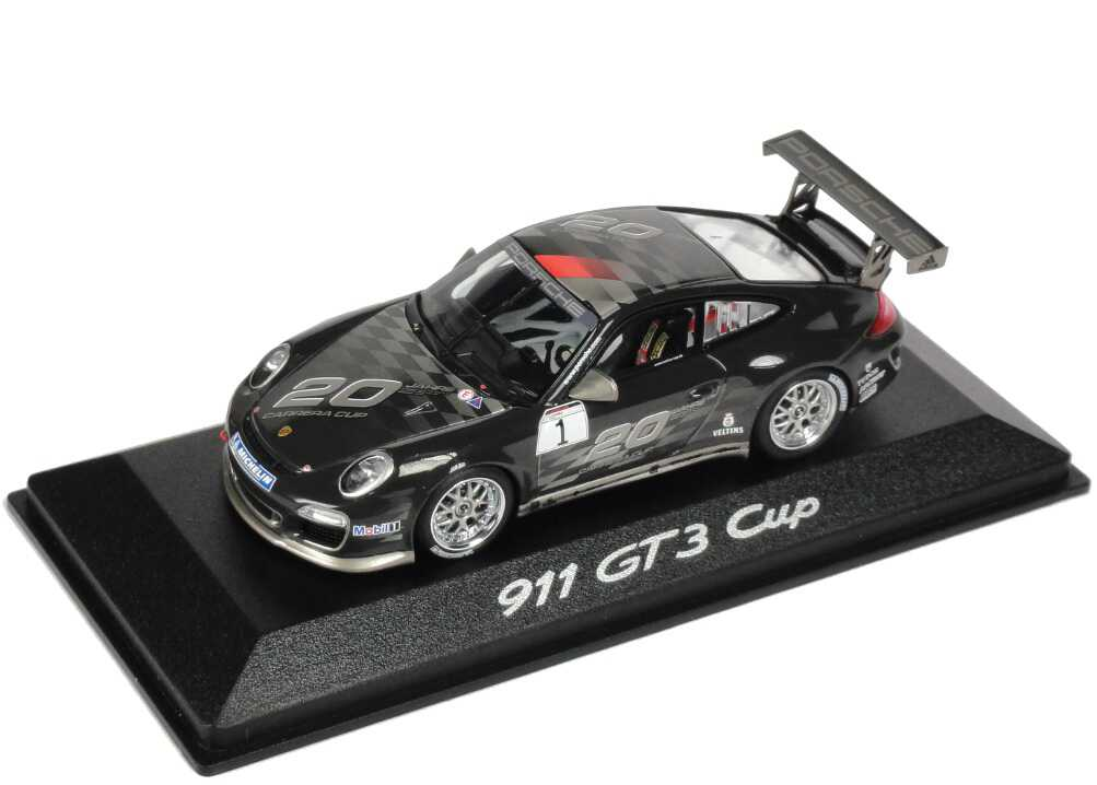 Foto 1:43 Porsche 911 GT3 Cup (997) 2010 20 Jahre Carrera Cup Nr.1 Werbemodell Minichamps WAP0200150B
