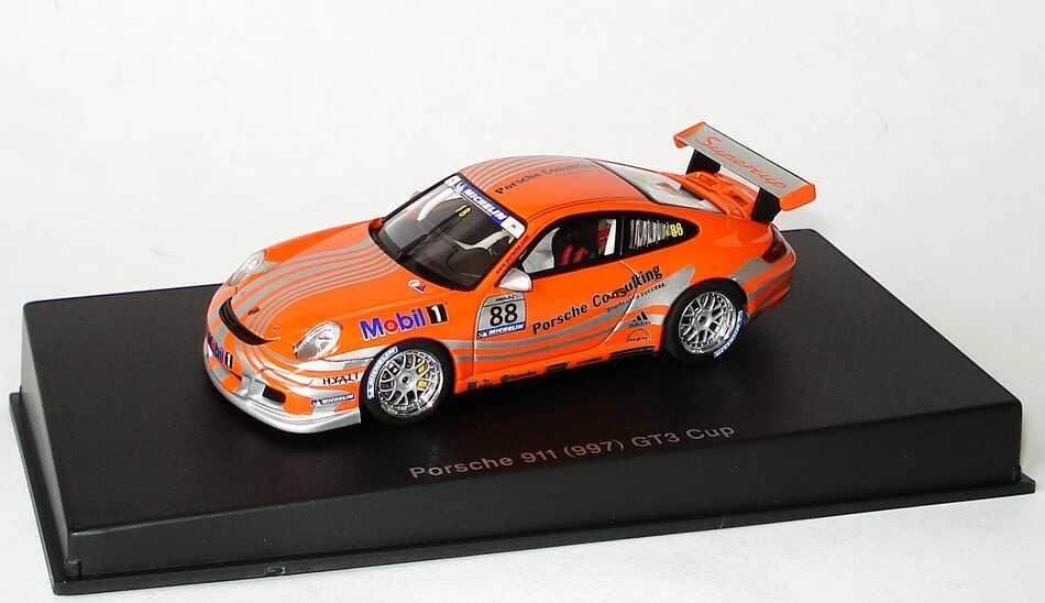 Foto 1:43 Porsche 911 GT3 Cup (997) Cup Car 2006 Porsche Consulting Nr.88 VIP AUTOart 60673