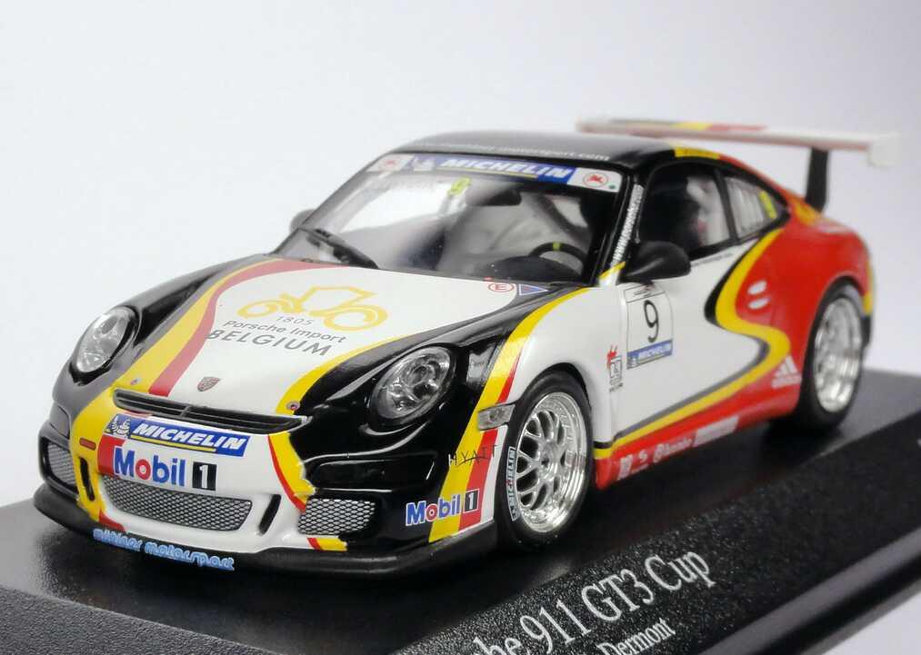Foto 1:43 Porsche 911 GT3 Cup (997) Supercup 2006 Mühlner Motorsport, Porsche Import Belgium Nr.9, Dermont Minichamps 400066409