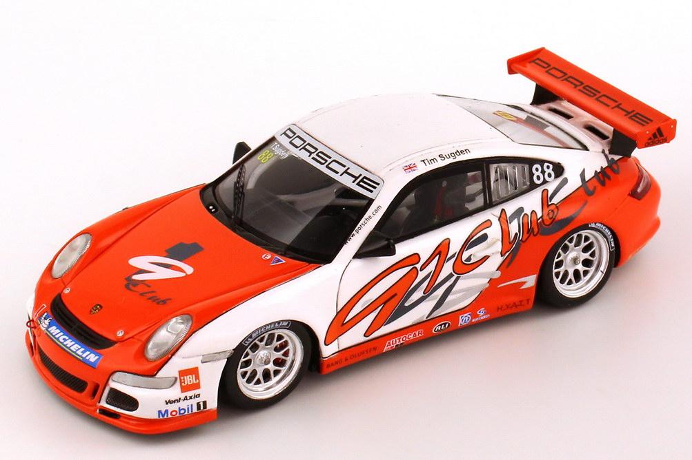 Foto 1:43 Porsche 911 GT3 Cup (997) Porsche Cup Asia 2007 91 Club Nr.88, Tim Sugden (Winner) Spark S1906