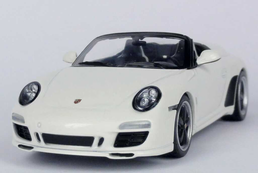 Foto 1:43 Porsche 911 Speedster (997, Modell 2010) carreraweiß Werbemodell Minichamps WAP0200290B