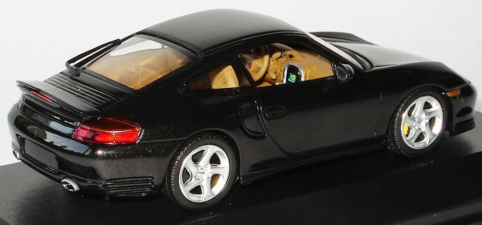 Foto 1:43 Porsche 911 Turbo (996) dunkelolivgrün-met. Minichamps 430069310