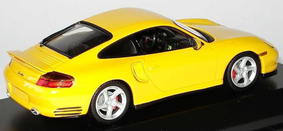 Foto 1:43 Porsche 911 Turbo (996) gelb Werbemodell Minichamps WAP02006410