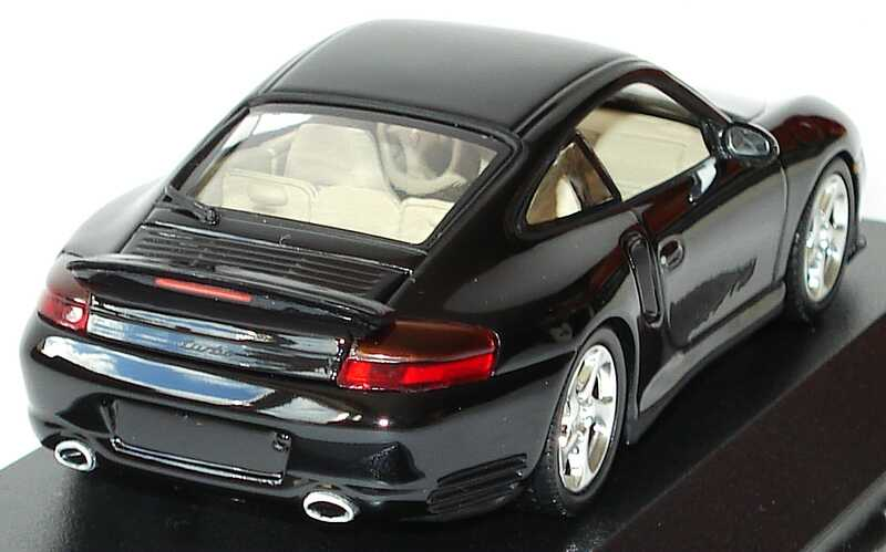 Foto 1:43 Porsche 911 Turbo (996) schwarz Minichamps 430069309