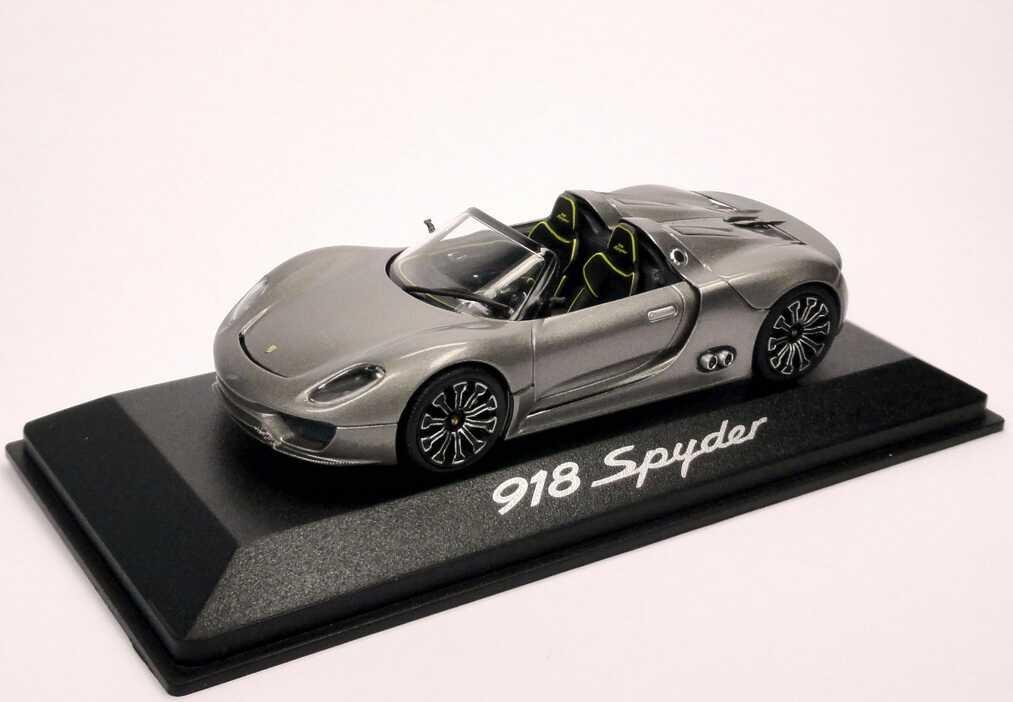 Foto 1:43 Porsche 918 Spyder liquid-met. Werbemodell Minichamps WAP0201910B