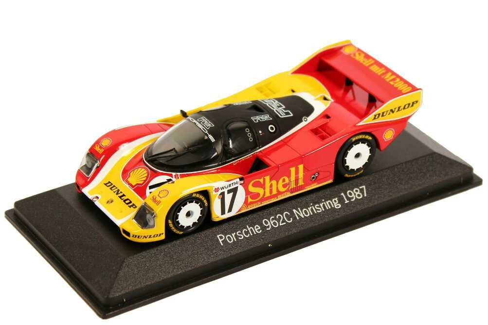 Foto 1:43 Porsche 962C Norisring 1987 Shell Nr.17, H.J. Stuck Werbemodell Minichamps WAP0201040C