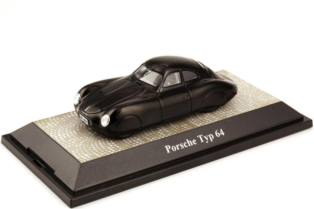 Foto 1:43 Porsche Typ 64 Stromlinie schwarz  - Berlin-Rom 1939 Premium ClassiXXs 18121