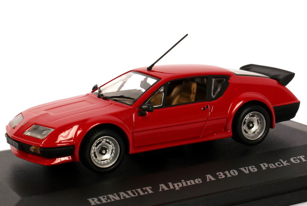 Foto 1:43 Renault Alpine A310 V6 GT rot Universal Hobbies 1610
