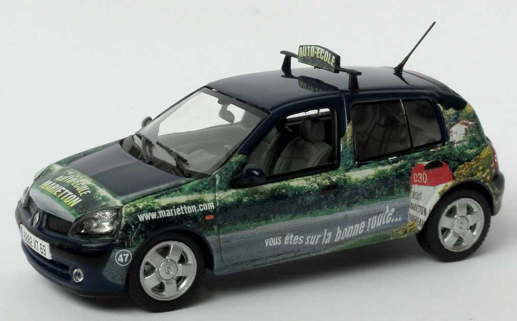 Foto 1:43 Renault Clio II Facelift 1.9 dCi Fahrschule Auto-Ecole Marietton - Norev 517510