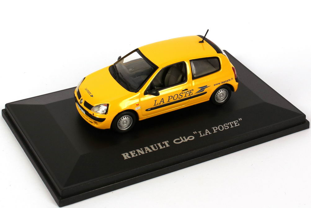 Foto 1:43 Renault Clio II Phase II La Poste Universal Hobbies 2406