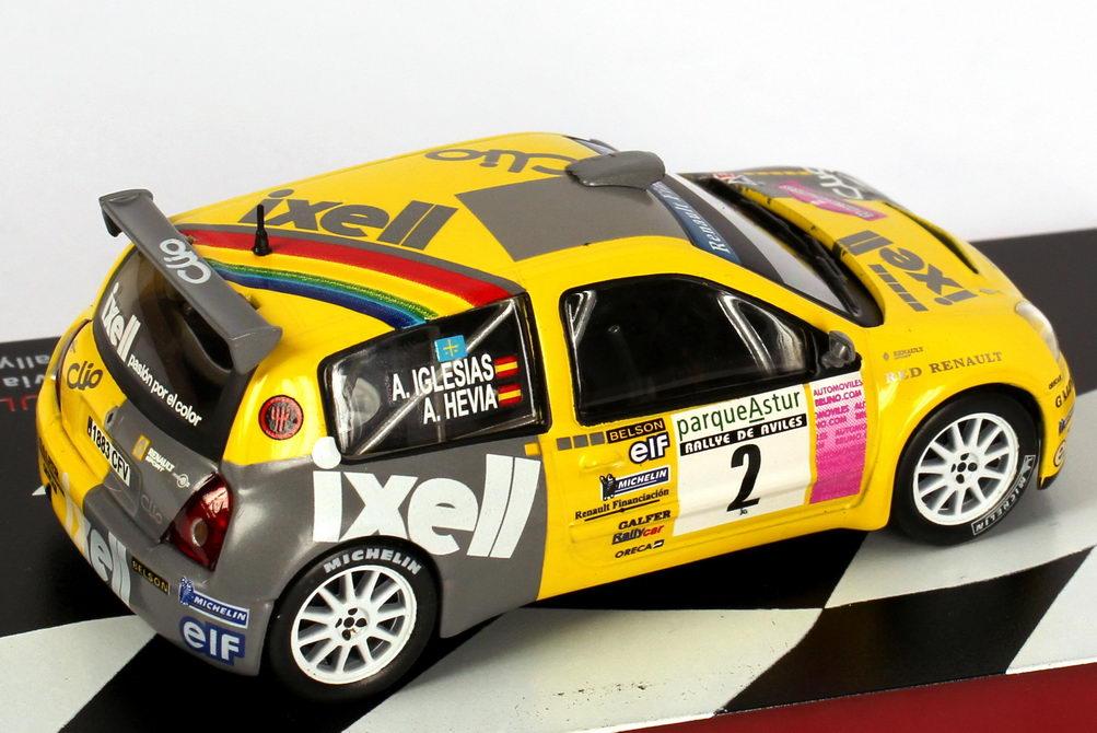 Foto 1:43 Renault Clio S1600 Rallye de Aviles 2004 Ixell Nr.2, Hevia / Iglesias Ixo