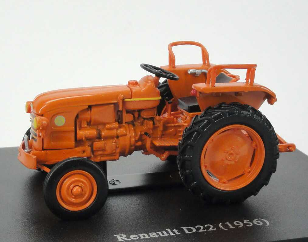 Foto 1:43 Renault D22 Tractor (1956) orange Universal Hobbies