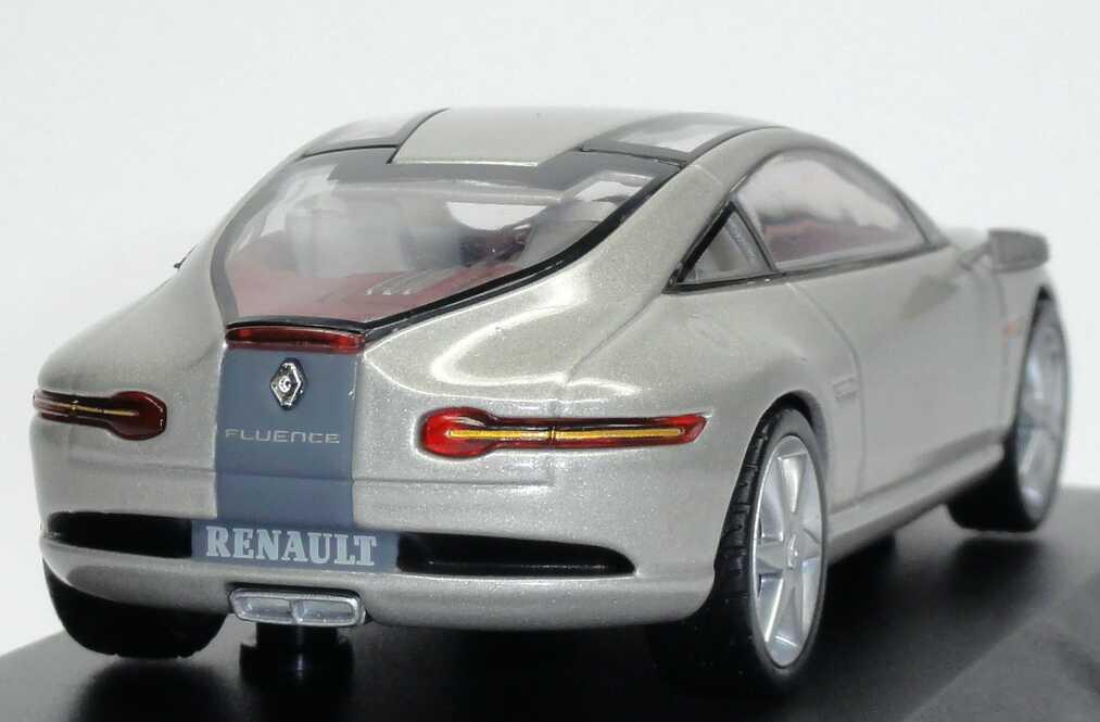 Foto 1:43 Renault Fluence Concept grau-met. (Mondial de l´Automobile 2004) Norev