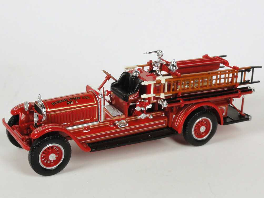Foto 1:43 Stutz Series 315 Model C (1924) Fire Engine Fords Fire Co. No.1 Yat Ming 43006
