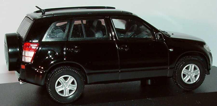 Foto 1:43 Suzuki Grand Vitara 5türig schwarz Werbemodell Rietze 990E0-65J27-000