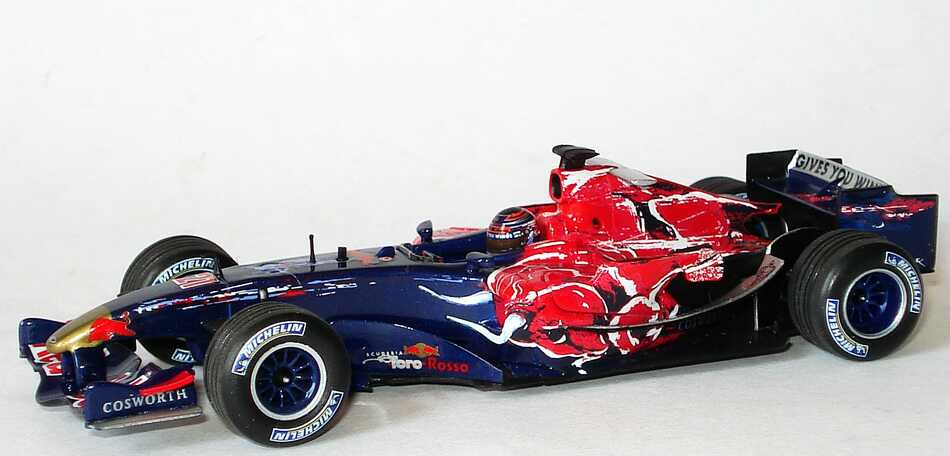 toro rosso cosworth str1 formel 1 2006 red bull. Black Bedroom Furniture Sets. Home Design Ideas