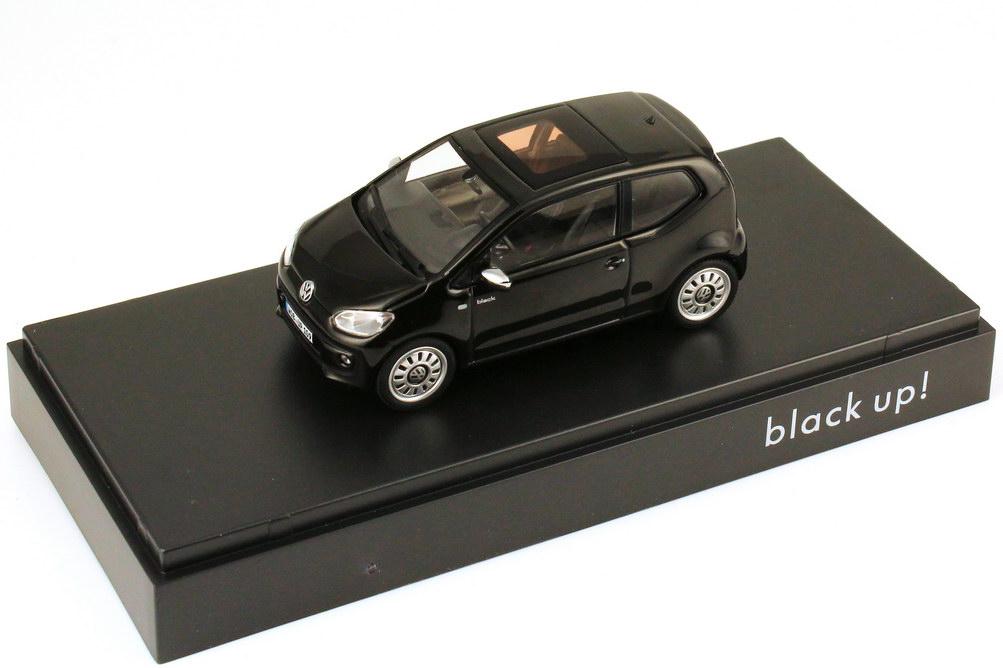 Foto 1:43 VW Black Up! 2-Türer schwarz Werbemodell Schuco 1S3099300A54H