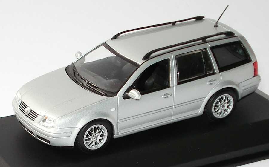 Foto 1:43 VW Bora Variant silber-met. Werbemodell Minichamps