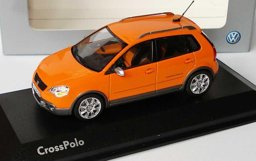 Foto 1:43 VW CrossPolo magmaorange Werbemodell Minichamps 6Q7099300D2C