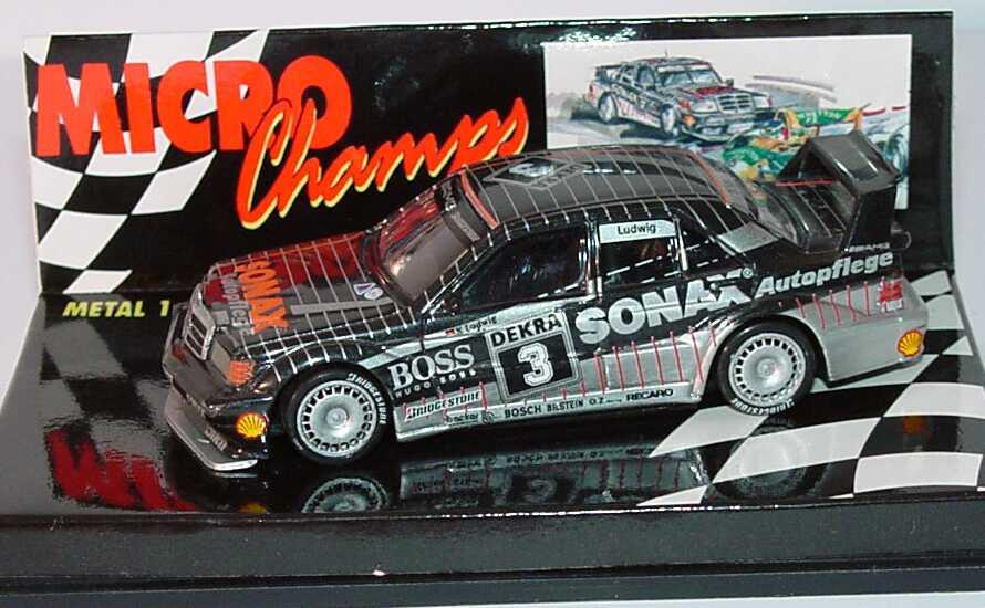 Foto 1:64 Mercedes-Benz 190E 2.5-16 Evolution II DTM 1992 AMG, Boss, Sonax Nr.3, Ludwig Paul´s Model Art MCH651102