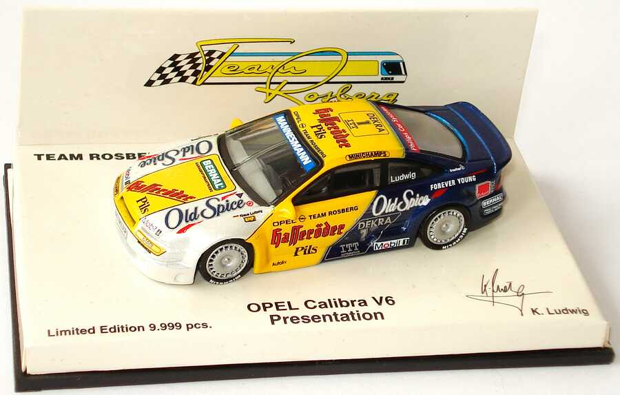 Foto 1:64 Opel Calibra V6 DTM 1995 Rosberg, Old Spice, Hasseröder Nr.1, Ludwig  (Präsentation) Paul´s Model Art 640954191