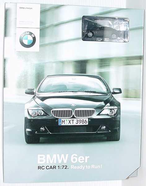 Foto 1:72 RC-Modell BMW 6er Coupé (E63) stratusgrau-met. Werbemodell Realtoy 80450309575