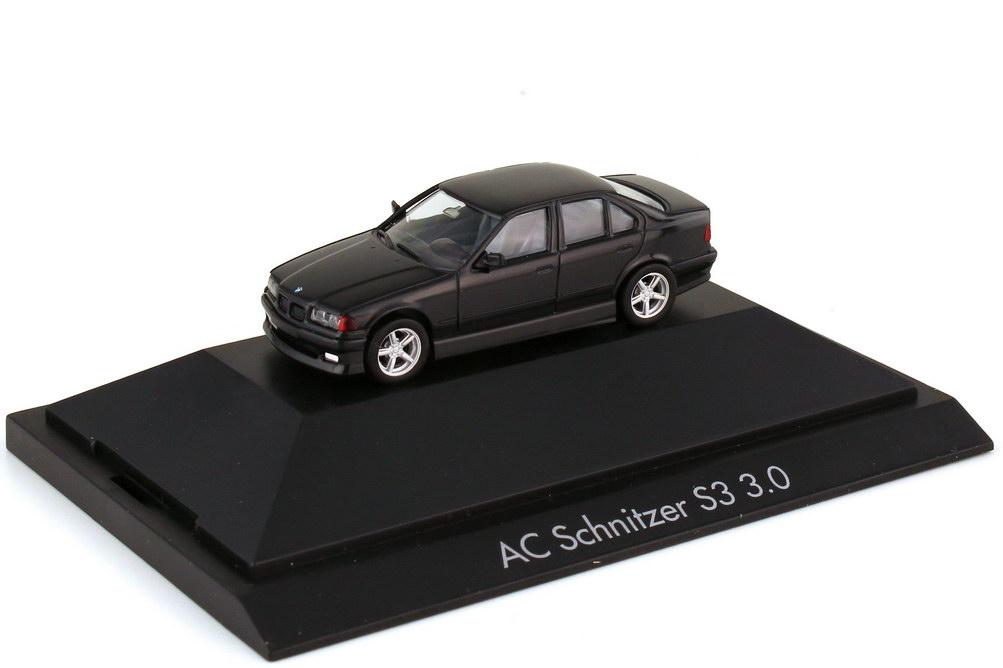 Foto 1:87 AC Schnitzer S3 3.0 - Basis BMW 3er E36 schwarz - herpa 100984