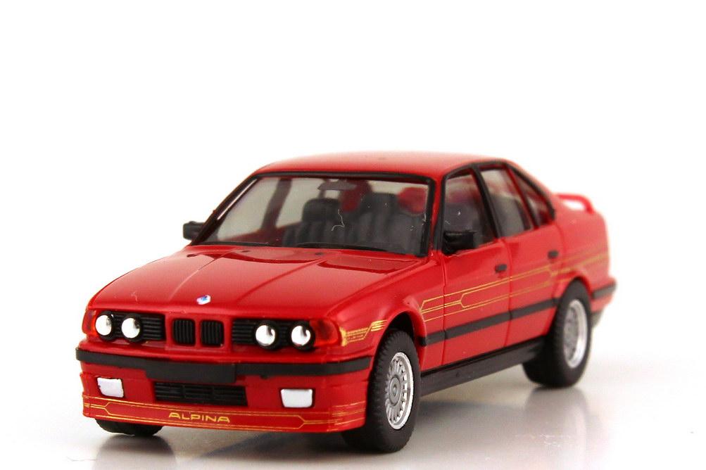 Foto 1:87 Alpina B10 BiTurbo rot - Basis BMW 5er E34 - Private Collection - herpa 20065