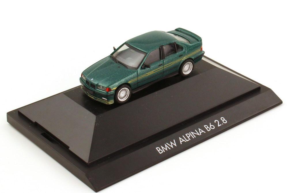 Foto 1:87 Alpina B6 2.8 Basis BMW 3er E36 grün-met. - herpa 100274