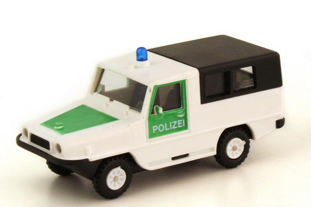 Foto 1:87 Amphi Ranger Polizei weiß grün - Rietze 50140