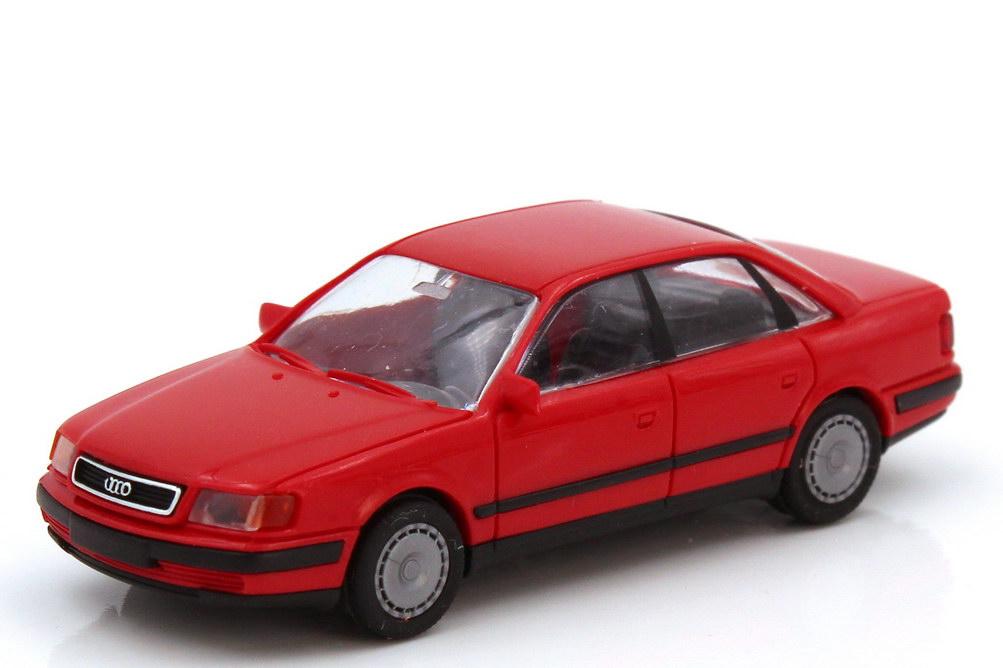 Foto 1:87 Audi 100 (C4) rot Rietze 10420