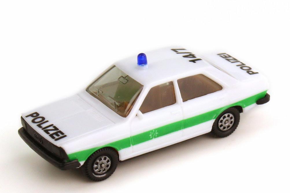 Foto 1:87 Audi 80 GTE B2 Polizei bayrisch 14 7 - herpa 4041