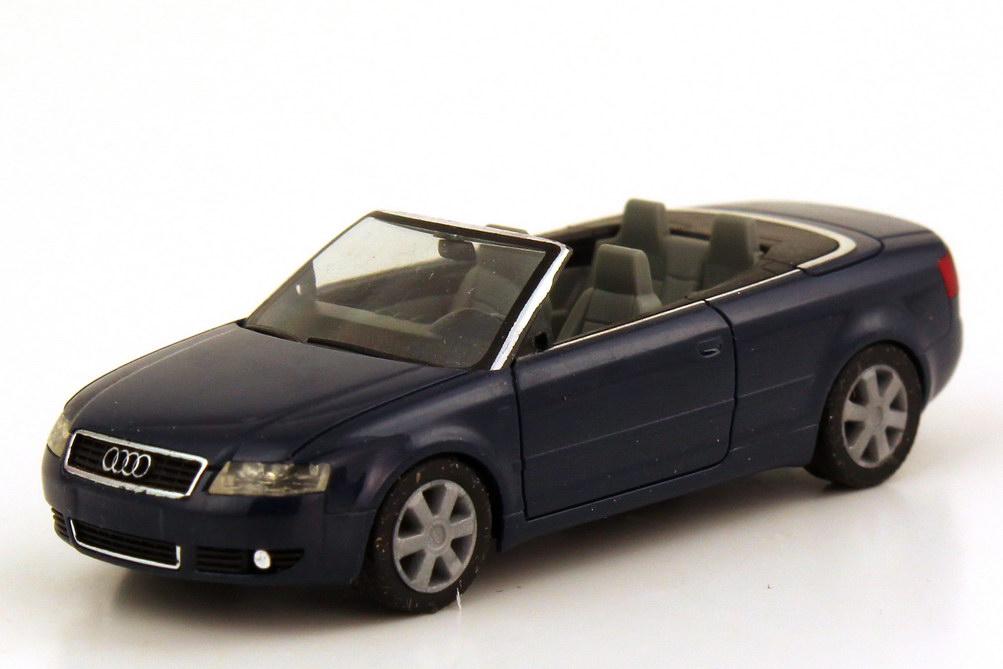 Foto 1:87 Audi A4 Cabrio Typ B6 dunkelblau - herpa 023061