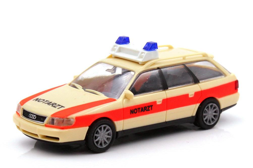 Foto 1:87 Audi A6 Avant C4 NEF Notarzt - Rietze 50661
