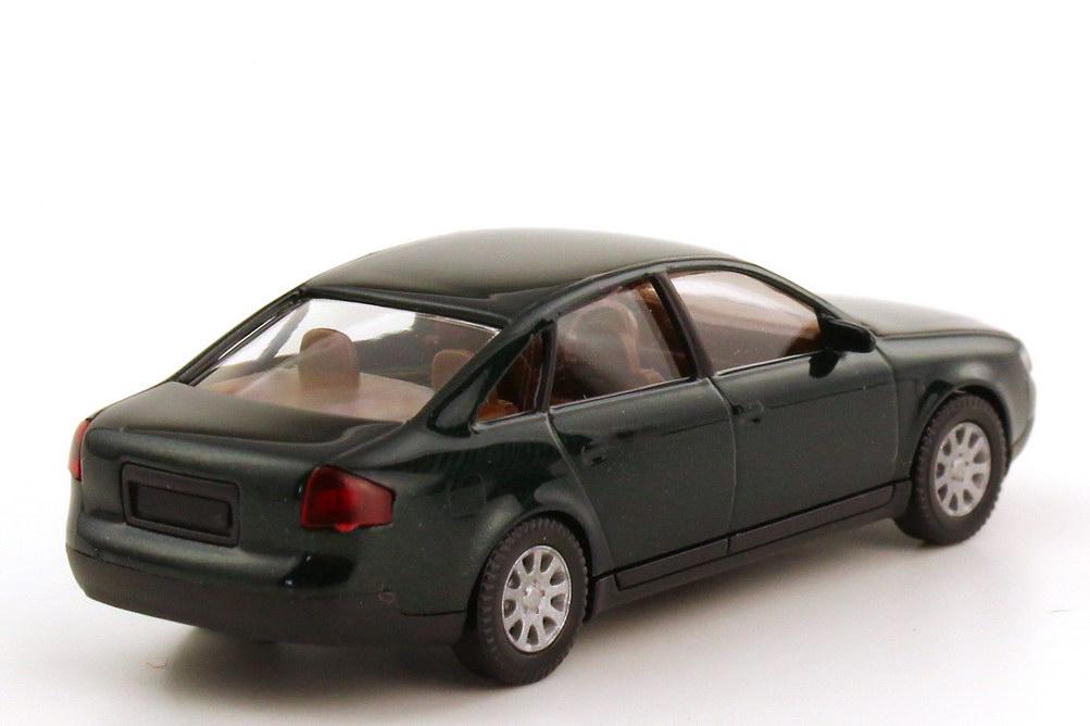 Foto 1:87 Audi A6 C5 dunkelgrün-met. - Werbemodell - Wiking 132255