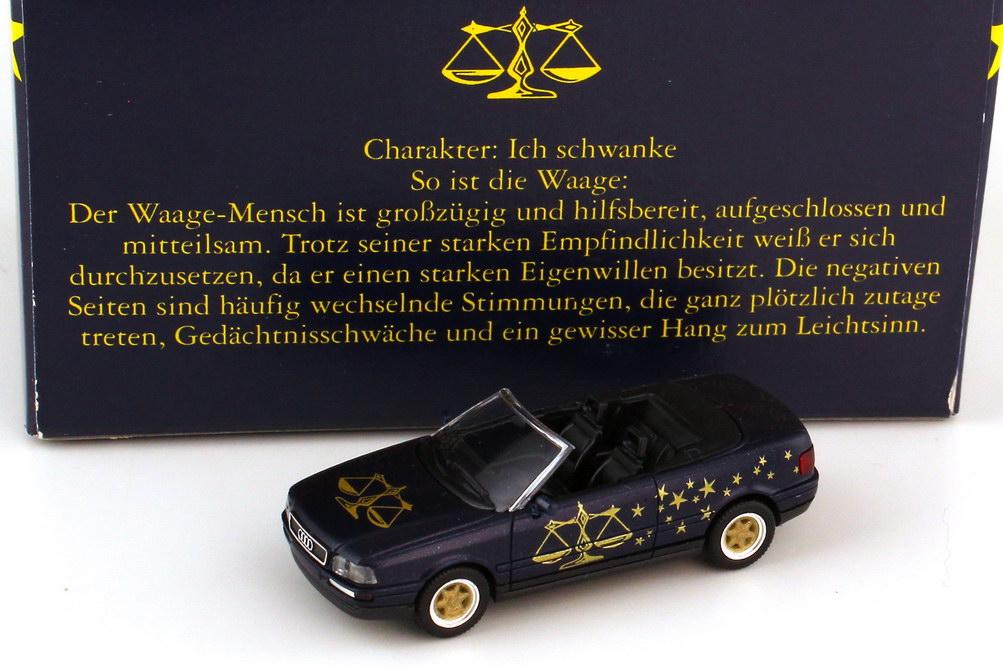 Foto 1:87 Audi Cabrio B3 Sternzeichen Waage - Astro Collection - herpa 100847