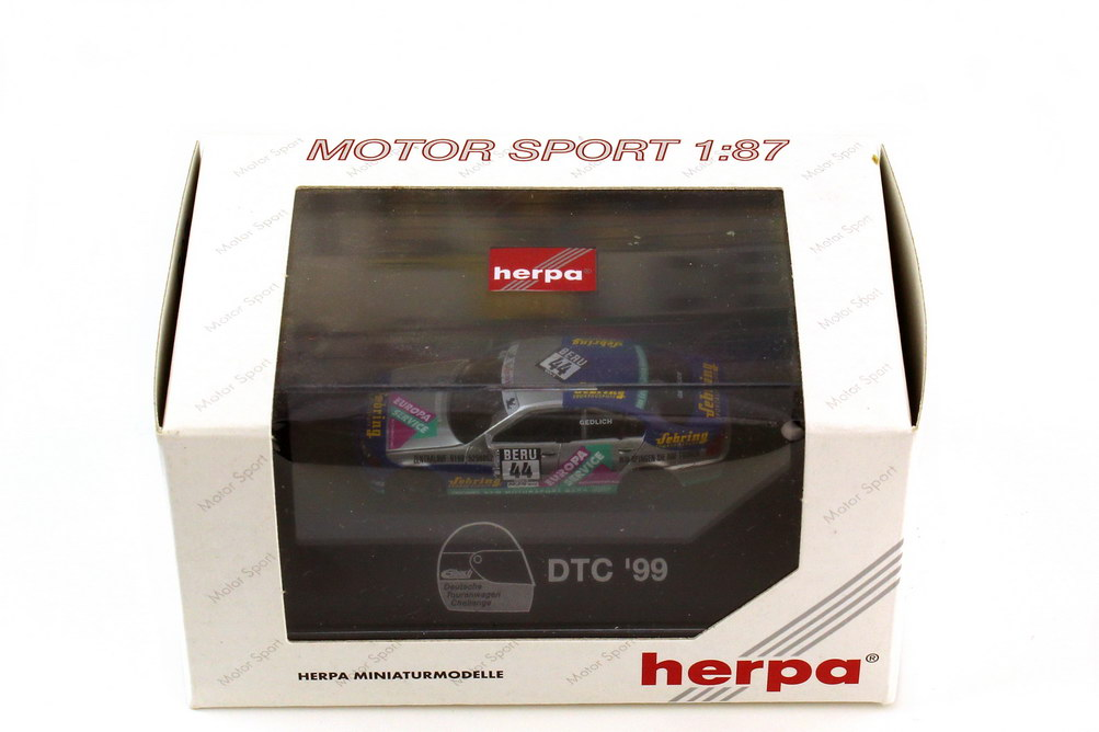 Foto 1:87 BMW 3er 320i E46 DTC 1999 KFM Motorsport Gera Nr.44 Markus Gedlich - herpa 037822