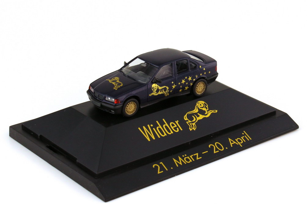 Foto 1:87 BMW 3er 325i E36 Sternzeichen Widder - Astro Collection - herpa 100908