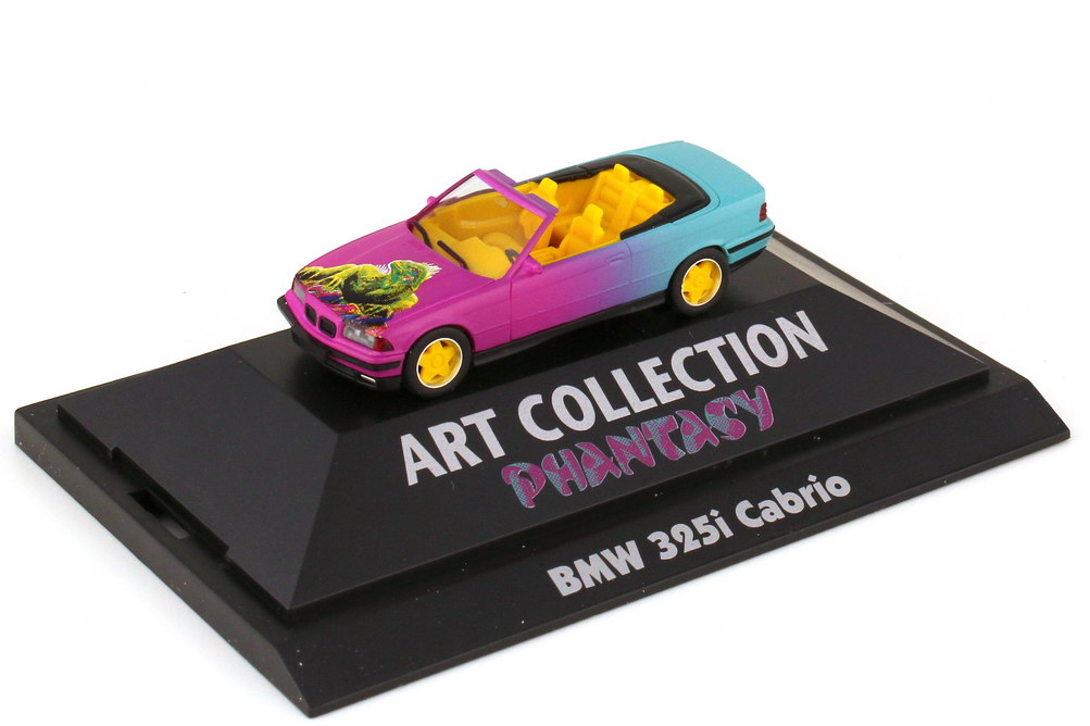 Foto 1:87 BMW 3er E36 325i Cabrio Phantasy - Art Collection - herpa 045087