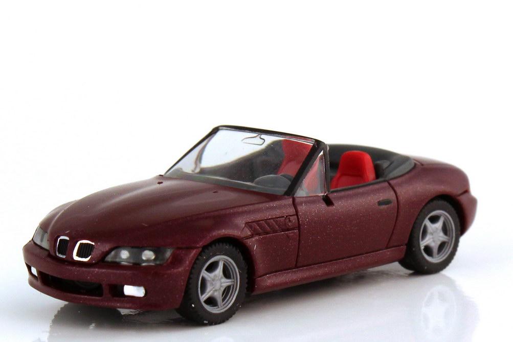 Foto 1:87 BMW Z3 Roadster sienarot-met. - herpa 031936