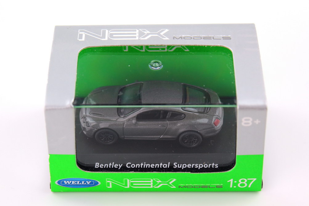 Foto 1:87 Bentley Continental Supersports grau  Welly 73147SW
