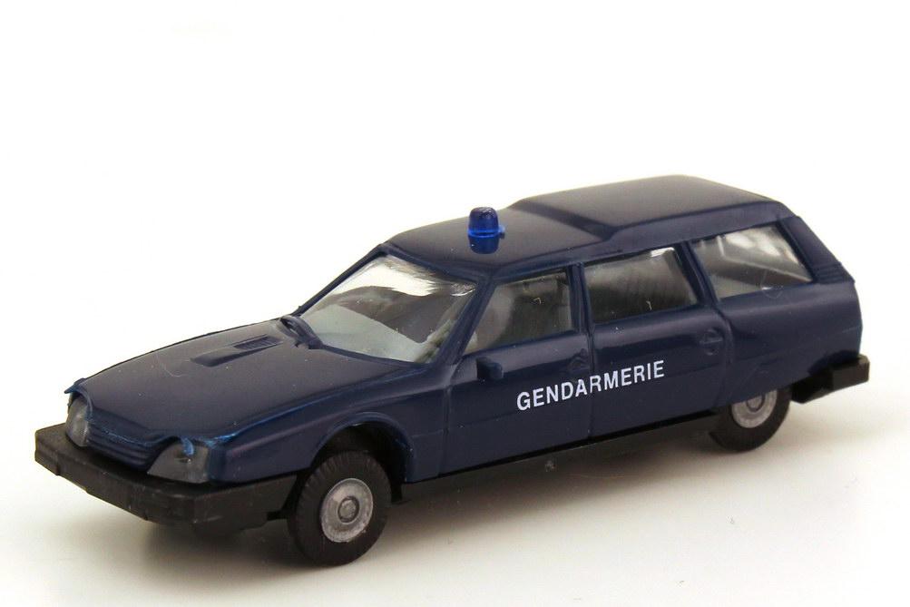 Foto 1:87 Citroen CX Break Gendarmerie Polizei Frankreich blau - Praliné 3303