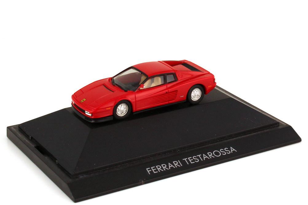 Foto 1:87 Ferrari Testarossa rot - Private Collection - herpa 25000