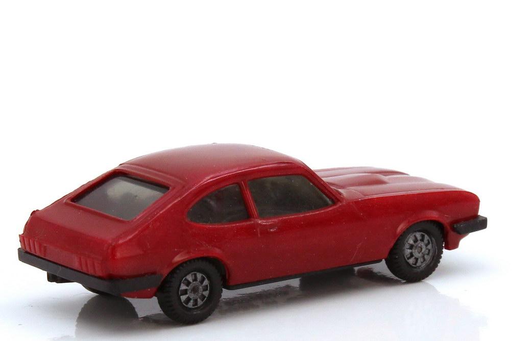 Foto 1:87 Ford Capri Mk III 3.0 Ghia dunkelrot-met. herpa 3005