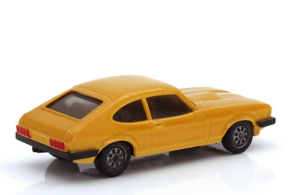 Foto 1:87 Ford Capri Mk III 3.0 Ghia goldgelb-met. - herpa 3005