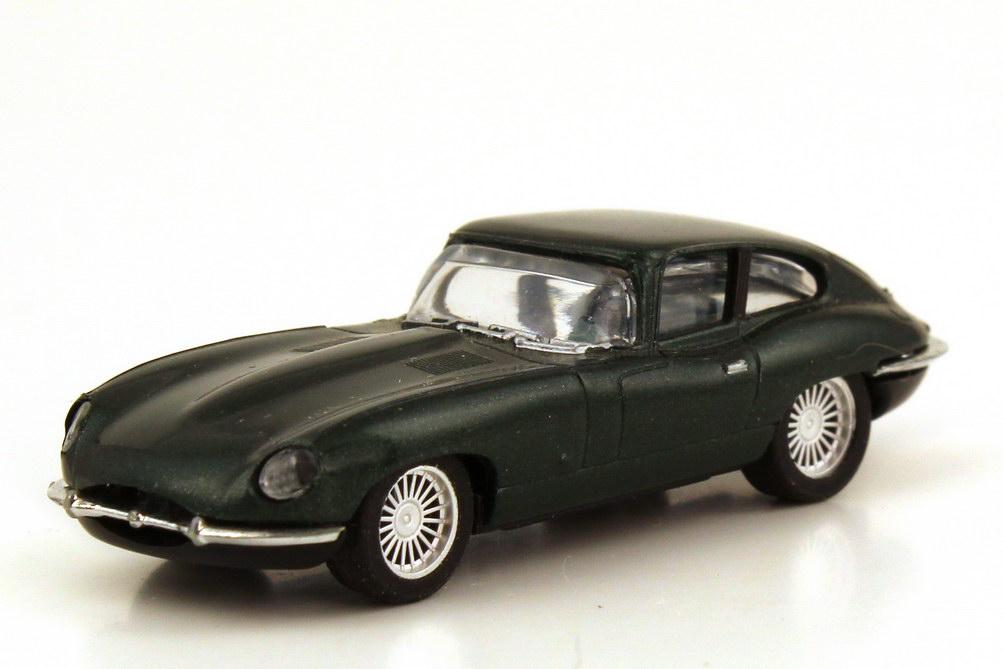 Foto 1:87 Jaguar E-Type racinggreen-met. - herpa 032018