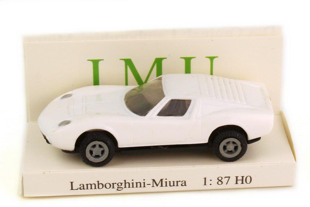 Foto 1:87 Lamborghini Miura weiß I.M.U. 08002