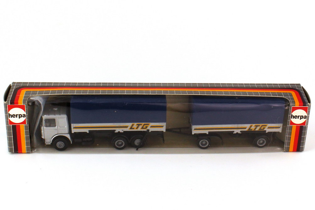Foto 1:87 MAN F8 WPP-Hgz LTG Landauer Transport Gesellschaft - herpa 818024