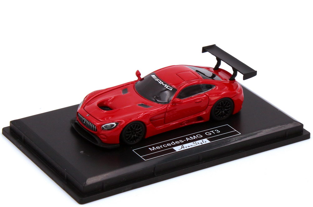 Foto 1:87 Mercedes-AMG GT3 C190 rot - Fronti-Art AvanStyle FHO-19